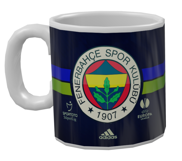 Mug - Fenerbahce S.K (Mug - Fenerbahçe) for Euro Truck Simulator 2.