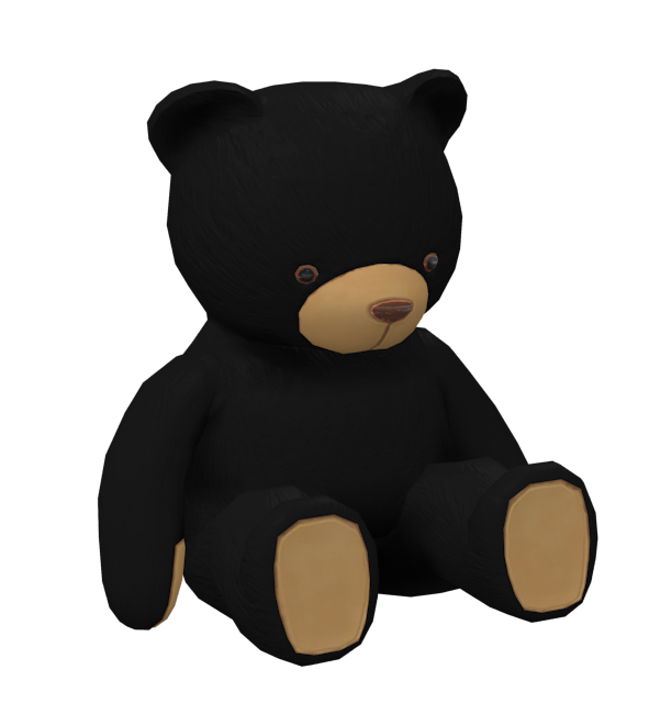 Teddy Bear Black (Teddy Bear Siyah) for Euro Truck Simulator 2.