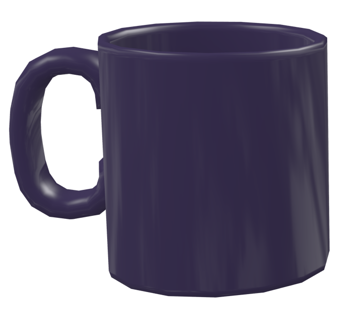 Color Mug - Purple (Renkli Kupa - Mor) for Euro Truck Simulator 2.