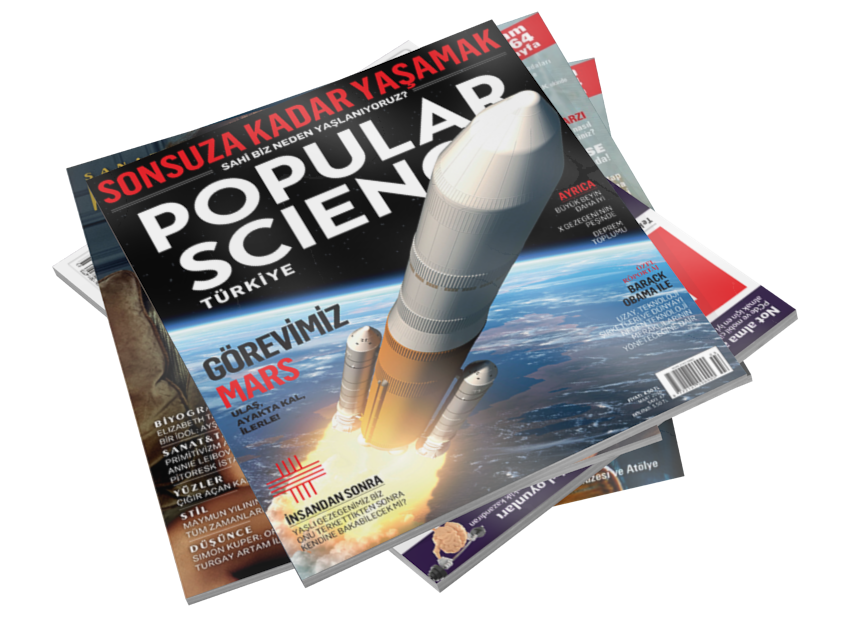 Magazines - Popular Science (Dergiler - Popular Science) for Euro Truck Simulator 2.