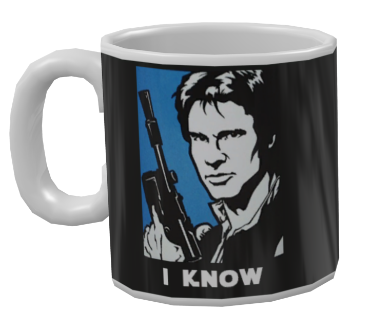 Mug - I know (Kupa - I know) for Euro Truck Simulator 2.