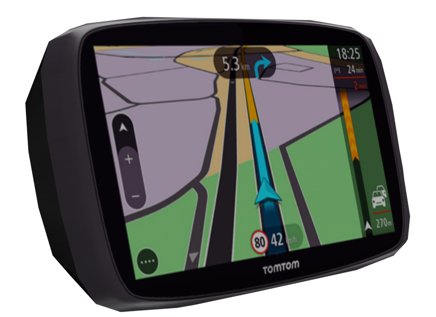 Tomtom Trucker 6500 for Euro Truck Simulator 2.