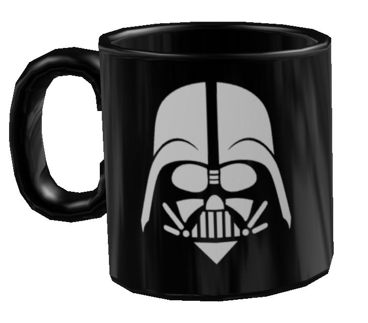 Mug - Darth Vader (Kupa - Darth Vader) for Euro Truck Simulator 2.