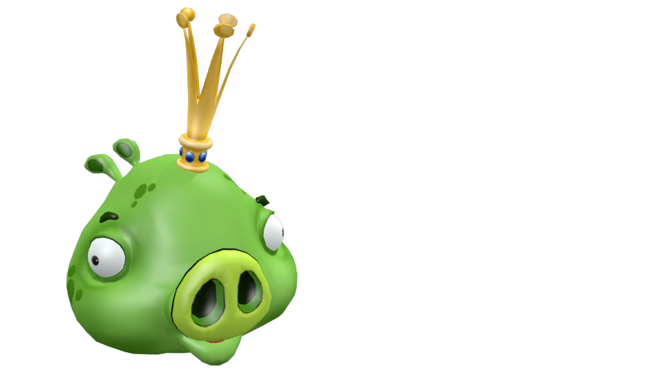 Angry Birds - King Pig for Euro Truck Simulator 2.