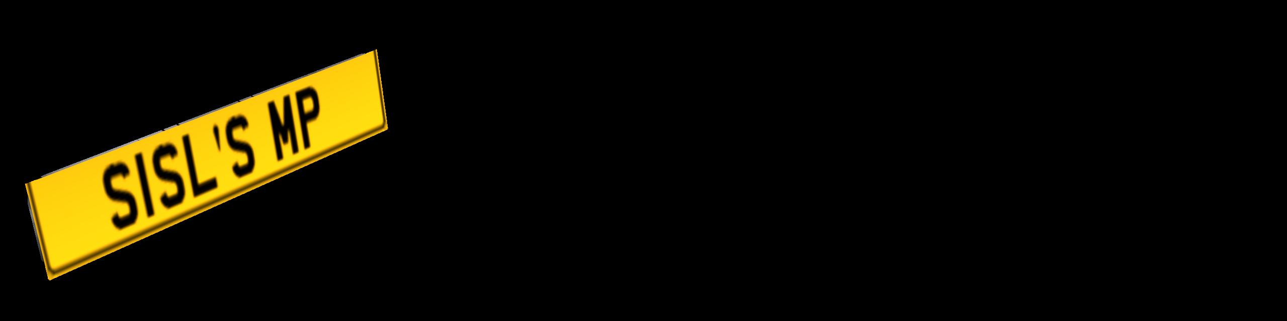 Standart Plate (Yellow) (Standart Plate (Sarı)) for Euro Truck Simulator 2.