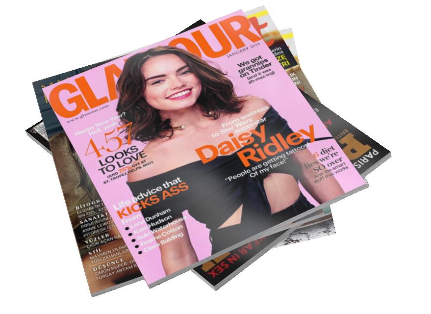 Magazines - Glamour (Dergiler - Glamour) for Euro Truck Simulator 2.