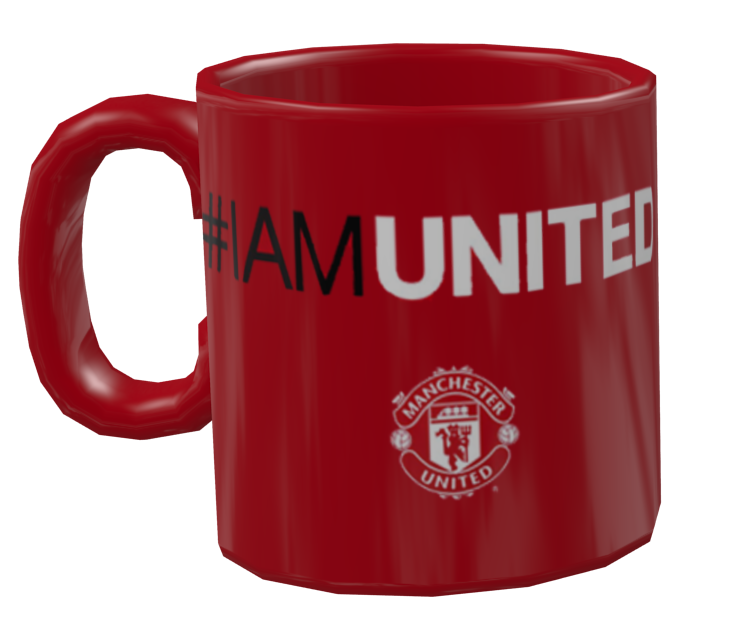 Mug - Manchester United (Kupa - Manchester United) for Euro Truck Simulator 2.