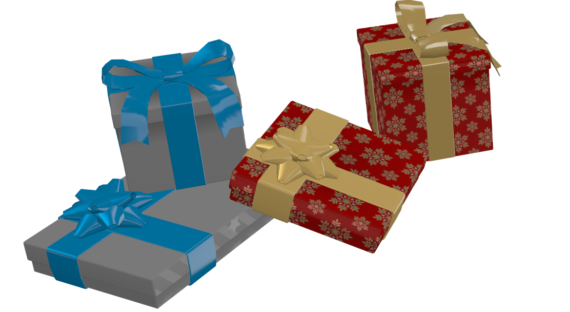 X-mas Presents 2 for Euro Truck Simulator 2.
