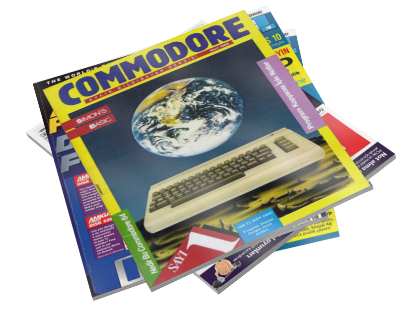 Magazines - Commodore (Dergiler - Commodore) for Euro Truck Simulator 2.