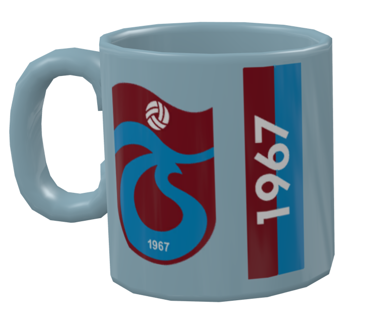 Mug - Trabzonspor (Kupa - Trabzonspor) for Euro Truck Simulator 2.