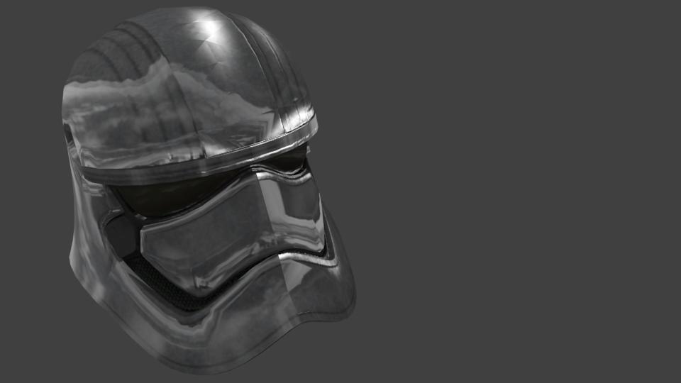 Helmet - Phasma for Euro Truck Simulator 2.