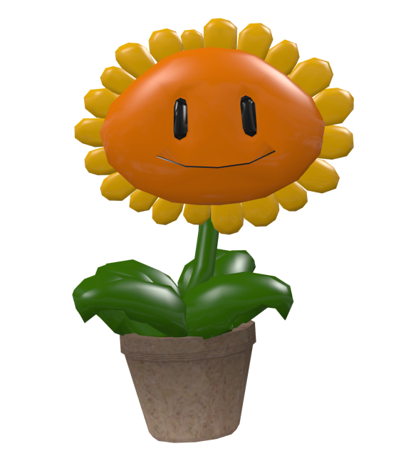 Plants vs. Zombies - Sun Flower for Euro Truck Simulator 2.