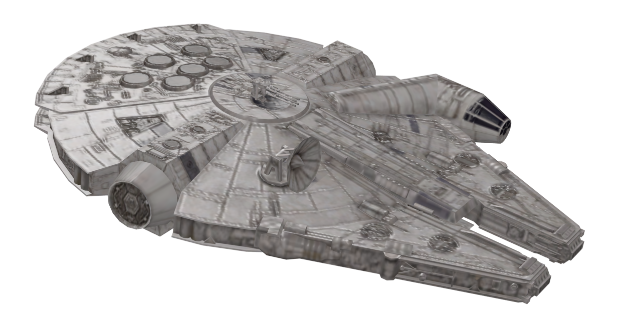 Millenium Falcon (YT-1300) for Euro Truck Simulator 2.
