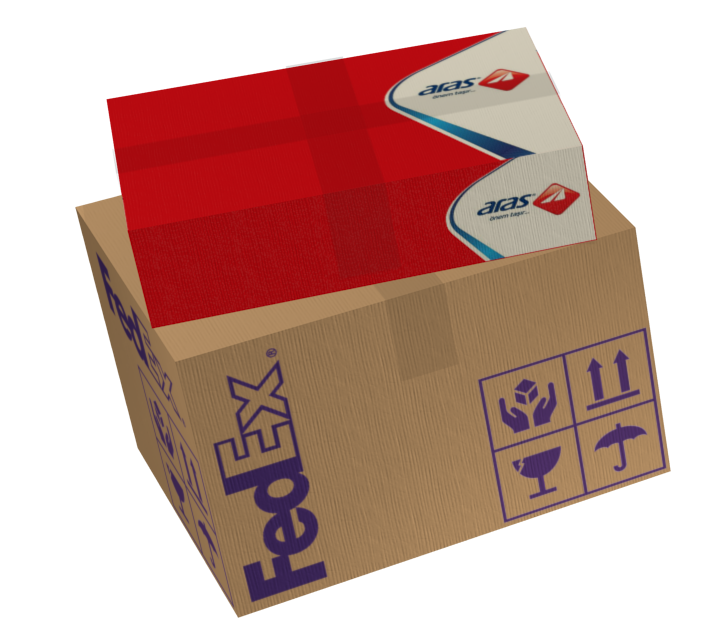 Hand-Delivery Cargo Boxes for Euro Truck Simulator 2.
