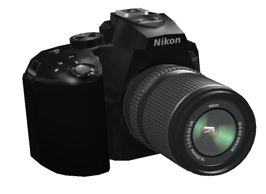 Nikon DSLR Camera (Nikon DSLR Fotoğraf Makinesi) for Euro Truck Simulator 2.