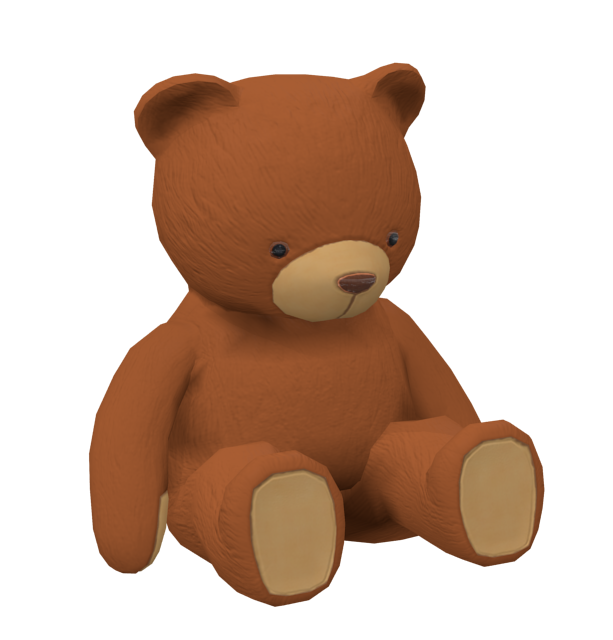 Teddy Bear for Euro Truck Simulator 2.