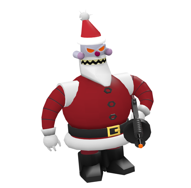 Futurama: Robot Santa for Euro Truck Simulator 2.