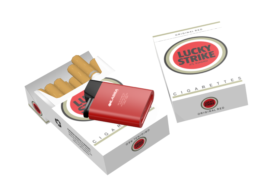 Cigarette - Lucky Strike (Sigara - Lucky Strike) for Euro Truck Simulator 2.