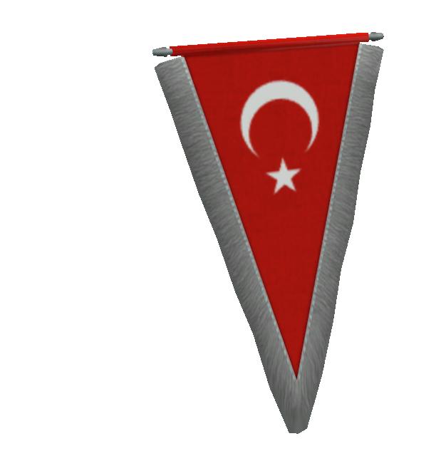 Pennant - Türkiye (Flama - Türkiye) for Euro Truck Simulator 2.
