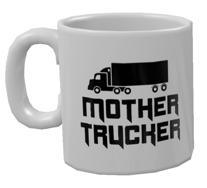 Mug - Mother Trucker (Kupa - Mother Trucker) for Euro Truck Simulator 2.