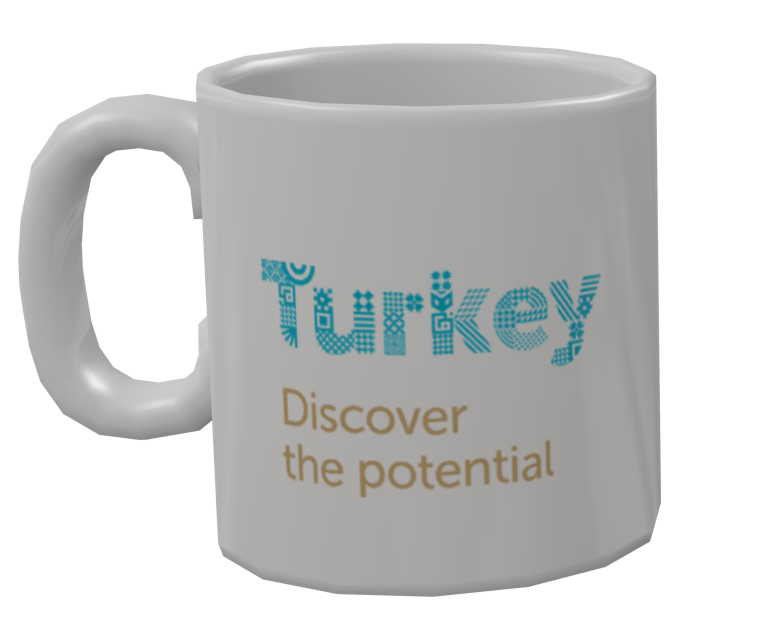 Mug - Discover the Potential (Kupa - Discover the Potential) for Euro Truck Simulator 2.