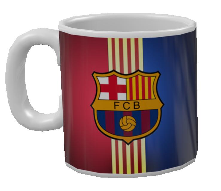 Mug - FC Barcelona (Kupa - FC Barcelona) for Euro Truck Simulator 2.