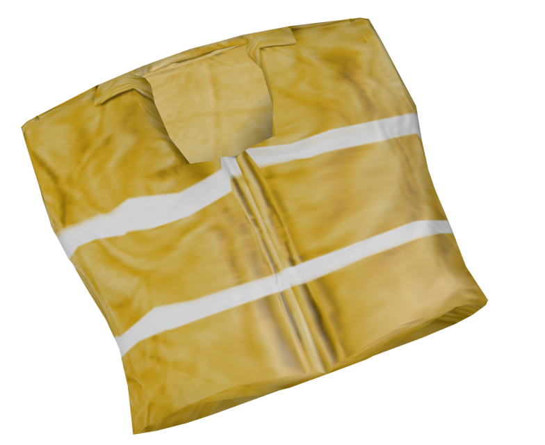 Safety Vest (Yelek) for Euro Truck Simulator 2.