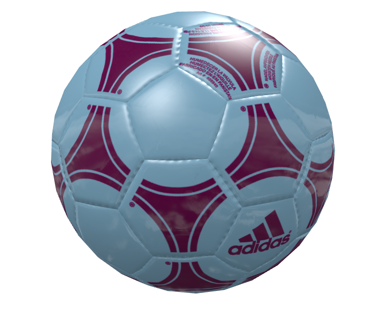 Knob: Football - Claret Blue (Knob: Football - Claret Mavi) for Euro Truck Simulator 2.