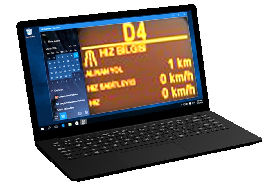Notebook (Truck Info) (Notebook (Yol Bilgisayarı)) for Euro Truck Simulator 2.