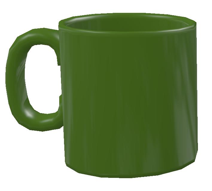 Color Mug - Green (Renkli Kupa - Yeşil) for Euro Truck Simulator 2.