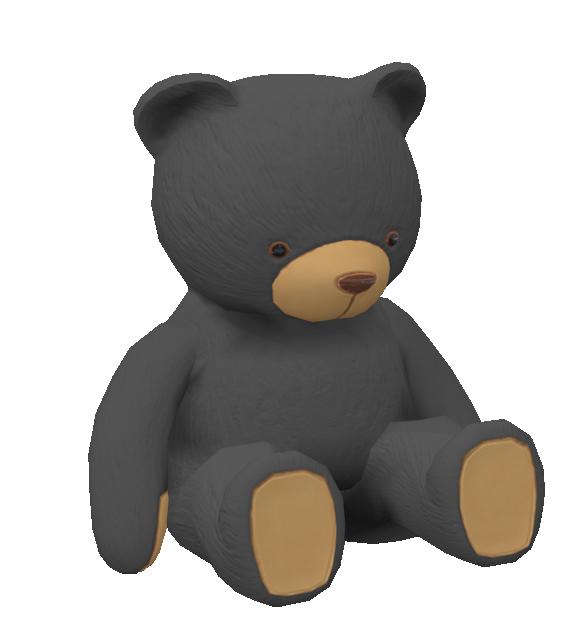 Teddy Bear Grey for Euro Truck Simulator 2.