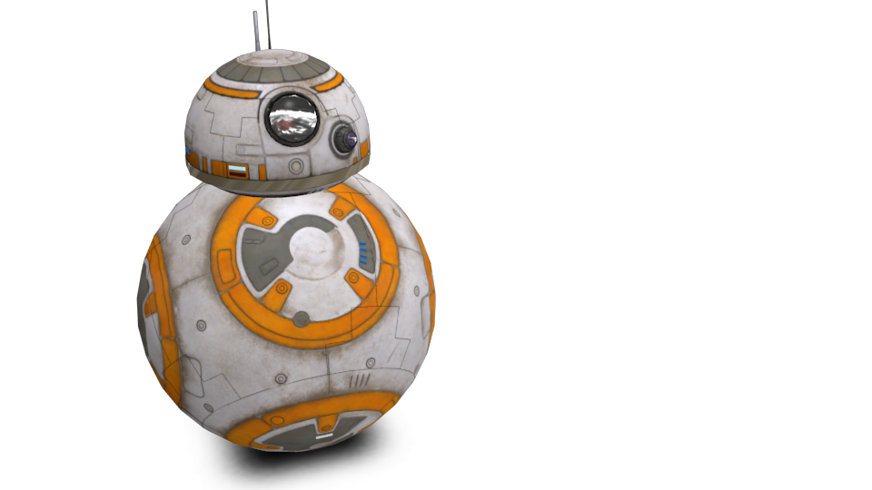 BB-8 for Euro Truck Simulator 2.