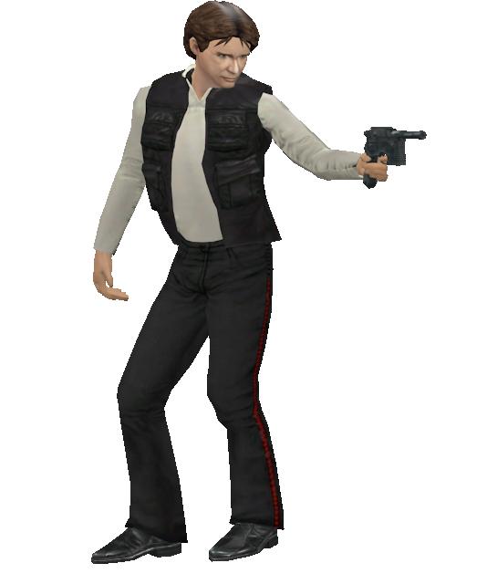 Han Solo - Statuette (Han Solo - Biblo) for Euro Truck Simulator 2.