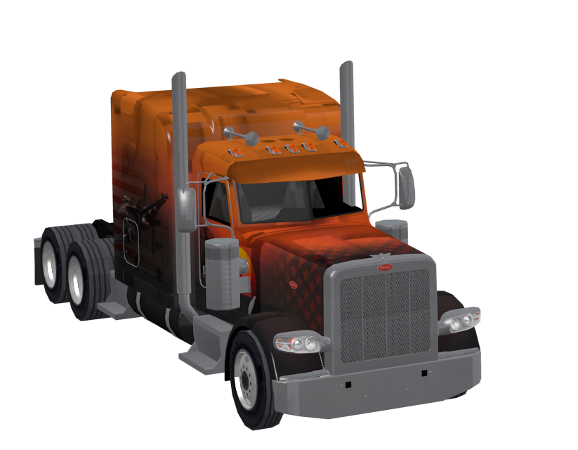 Peterbilt 389 Toy for Euro Truck Simulator 2.