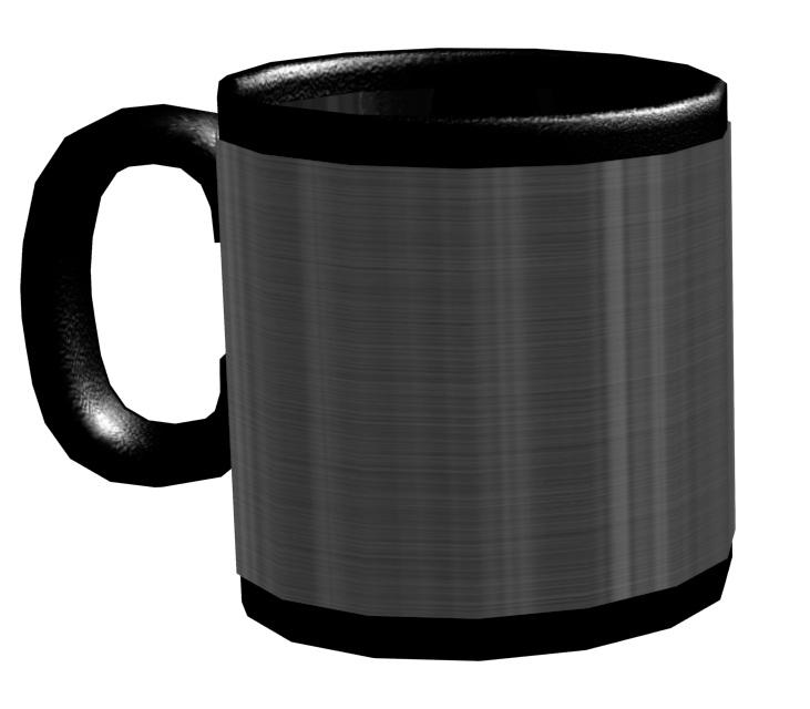 Mug - Metal (Kupa - Metal) for Euro Truck Simulator 2.