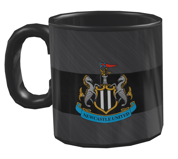 Mug - Newcastle United (Kupa - Newcastle United) for Euro Truck Simulator 2.