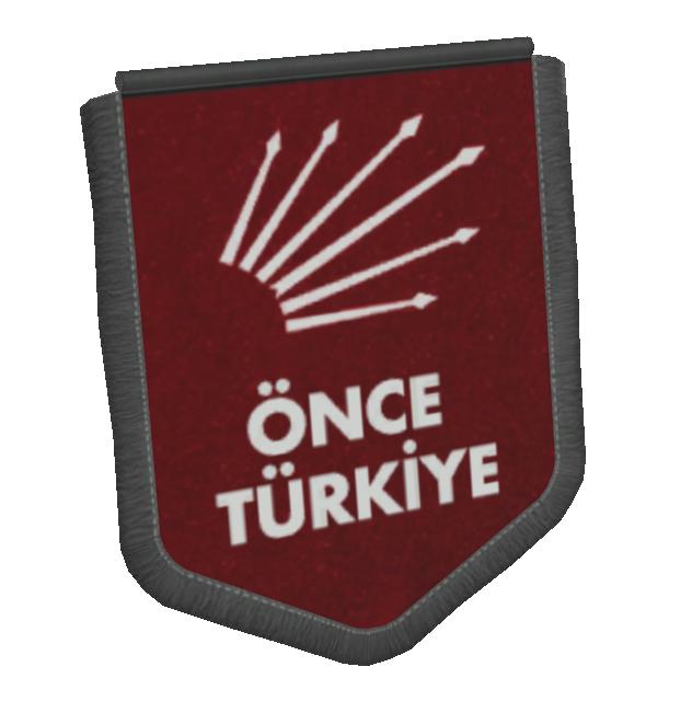 Big Pennant - Önce Türkiye (Büyük Flama - Önce Türkiye) for Euro Truck Simulator 2.