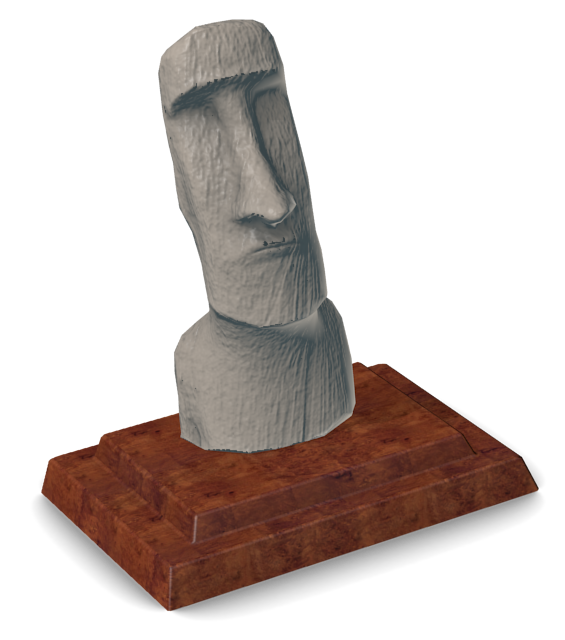 Easter Island Statue Ranu Ranku for Euro Truck Simulator 2.