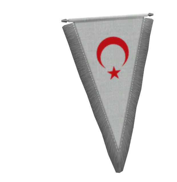 Pennant - Northern Cyprus (Flama - KKTC) for Euro Truck Simulator 2.