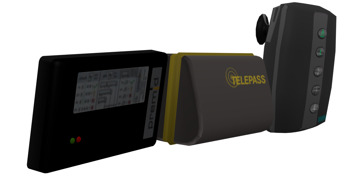 Telepass Set 3 for Euro Truck Simulator 2.