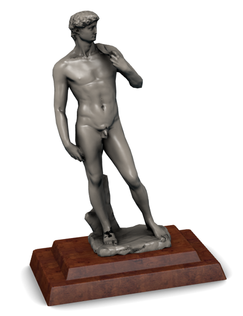 Statue of David by Michelangelo for Euro Truck Simulator 2.