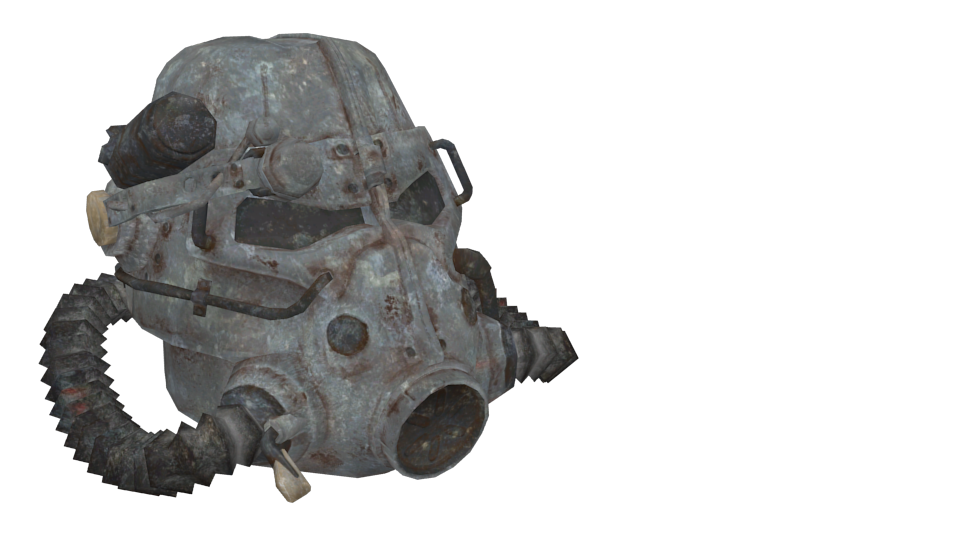 Fallout - T45 Helmet for Euro Truck Simulator 2.