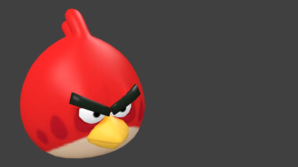 Angry Birds - Red (Angry Birds - Kırmızı) for Euro Truck Simulator 2.
