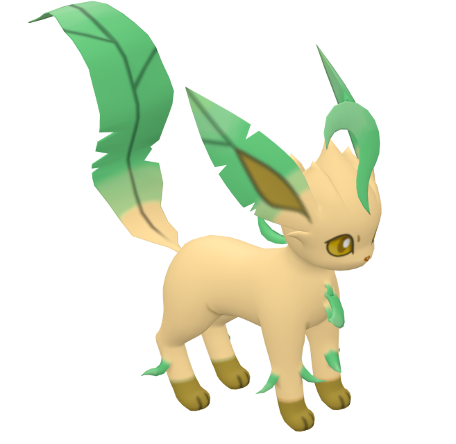 Pokémon - Leafeon for Euro Truck Simulator 2.