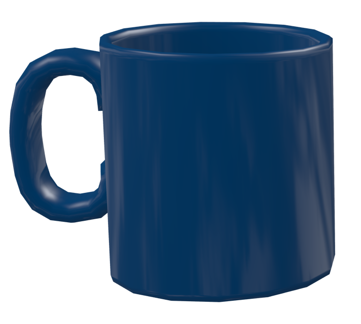 Color Mug - Blue (Renkli Kupa - Mavi) for Euro Truck Simulator 2.