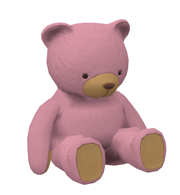 Teddy Bear Pink for Euro Truck Simulator 2.