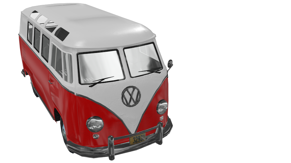 Volkswagen T1 for Euro Truck Simulator 2.
