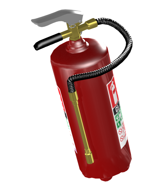 Fire Extinguisher (Yangın Tüpü) for Euro Truck Simulator 2.