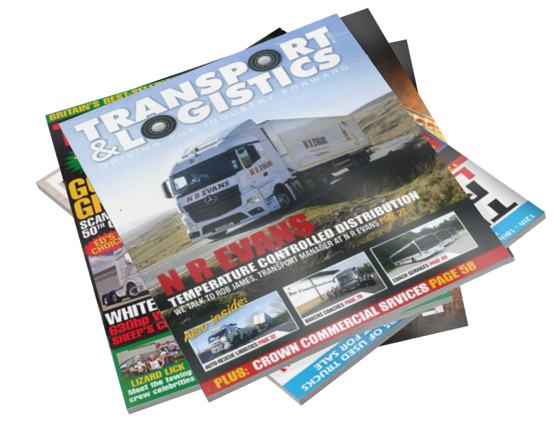 Magazines - Transport & Logistics (Dergiler - Transport & Logistics) for Euro Truck Simulator 2.
