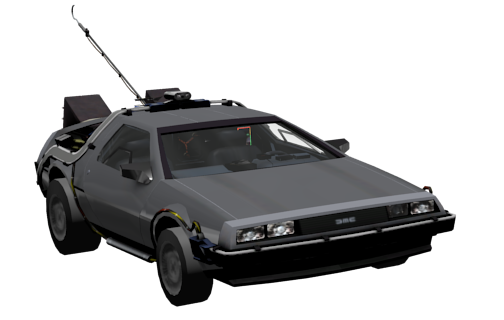 Delorean DMC-12 for Euro Truck Simulator 2.